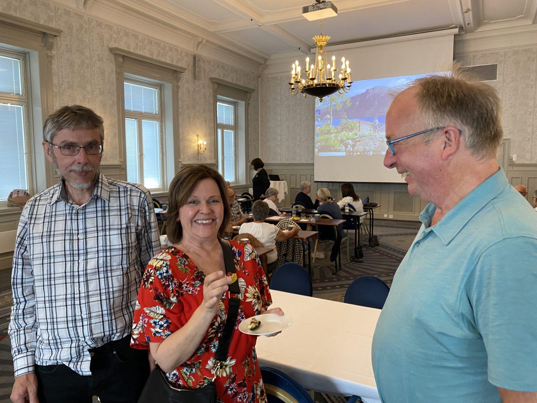 Hotel Victoria, Stavanger, møte mellom styret i NDF og lokallaget NDF Rogaland.